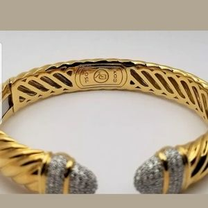 David yurman 18k gold bracelet